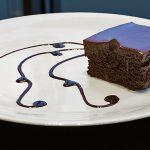 picture of triple chocolate brownie