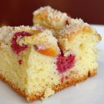 photo of Peach Raspberry Cake
