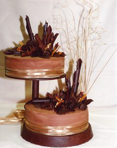 picture of two tier cake