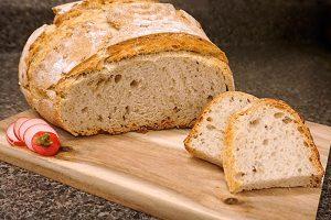 picture of bread made in the Unique Food Attitudes restaurant
