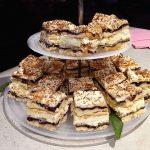 photo of black currant meringue mini cakes