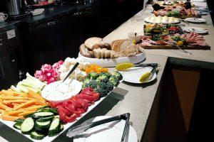 photo of catering arrangements
