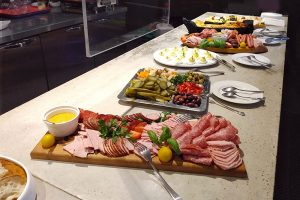 photo of charcuterie boards, vegetables plate and eggs plate
