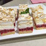 photo of raspberry cloud mini cakes